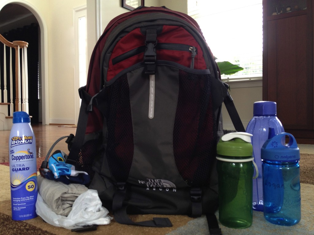 What to pack on for an adventure