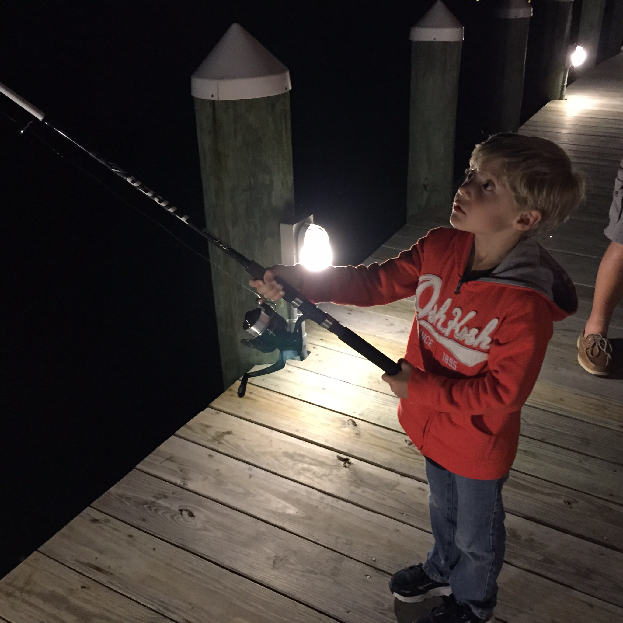 Logan fishes